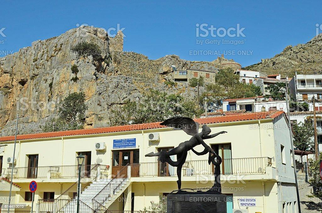 Greece, Samothrace stock photo