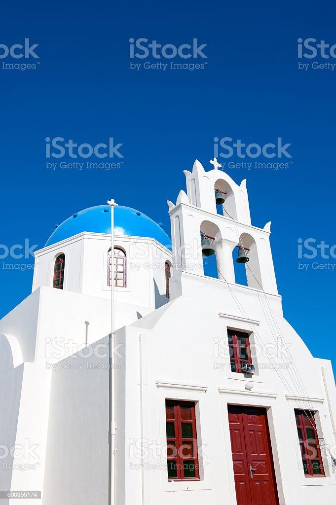 Greece, Santorini, Church stock photo