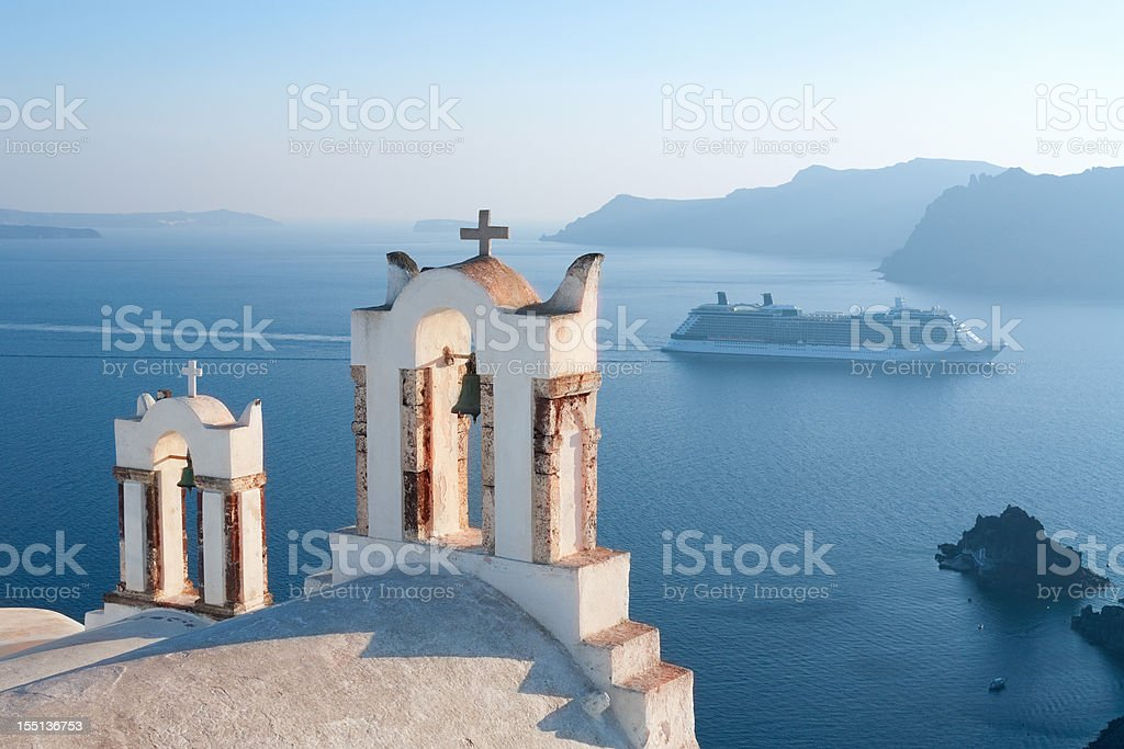 Greece, Santorini Views royalty-free stock photo