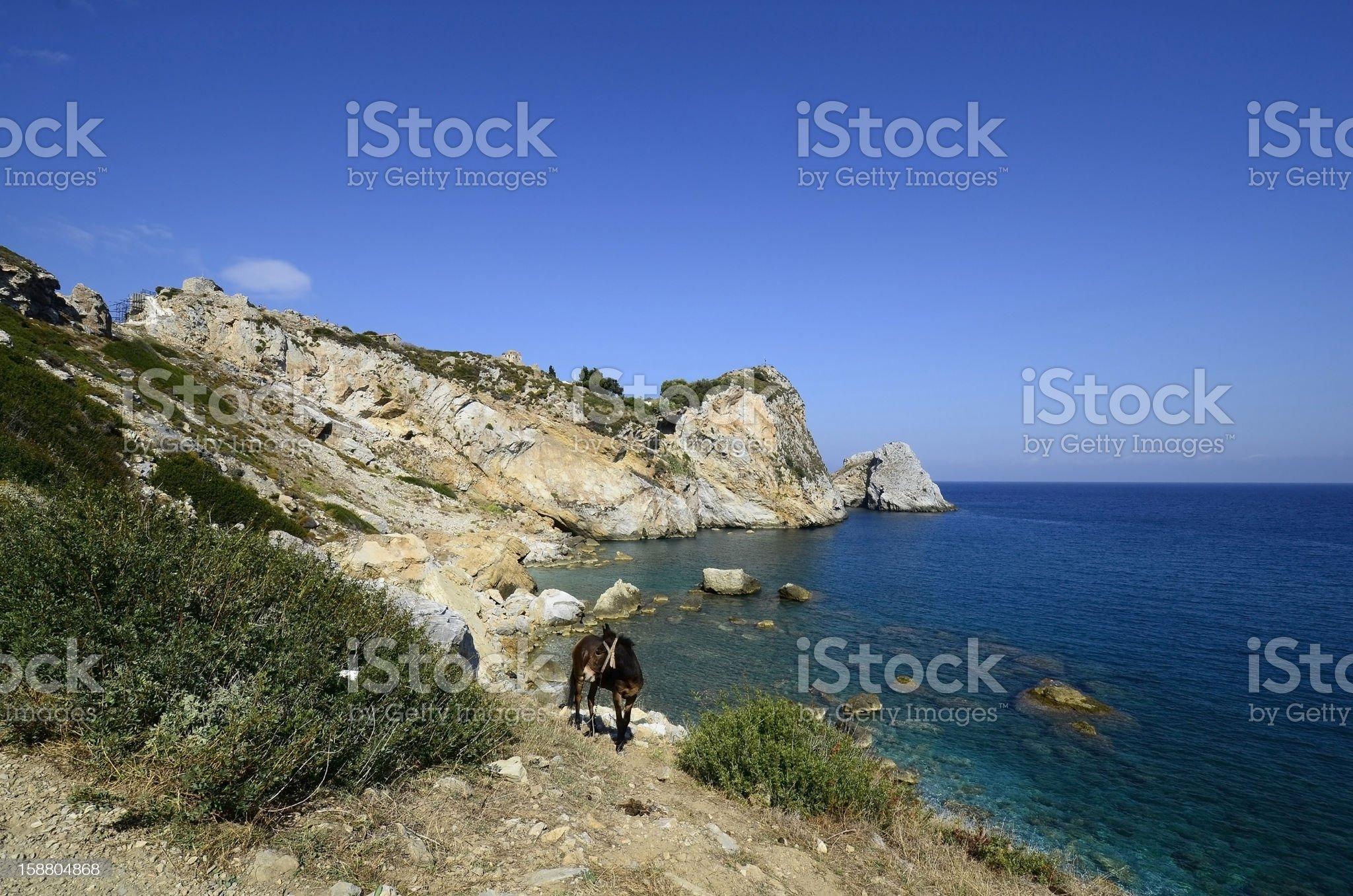 Greece, Skiathos royalty-free stock photo