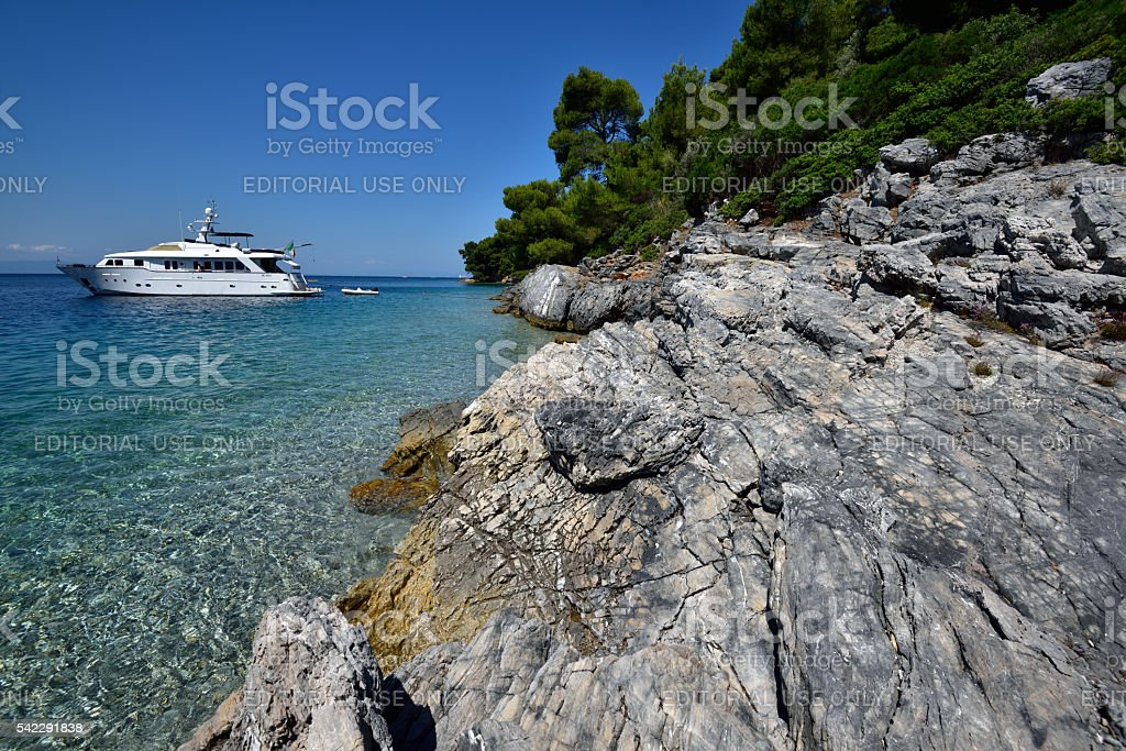 Greece, Skopelos Island stock photo