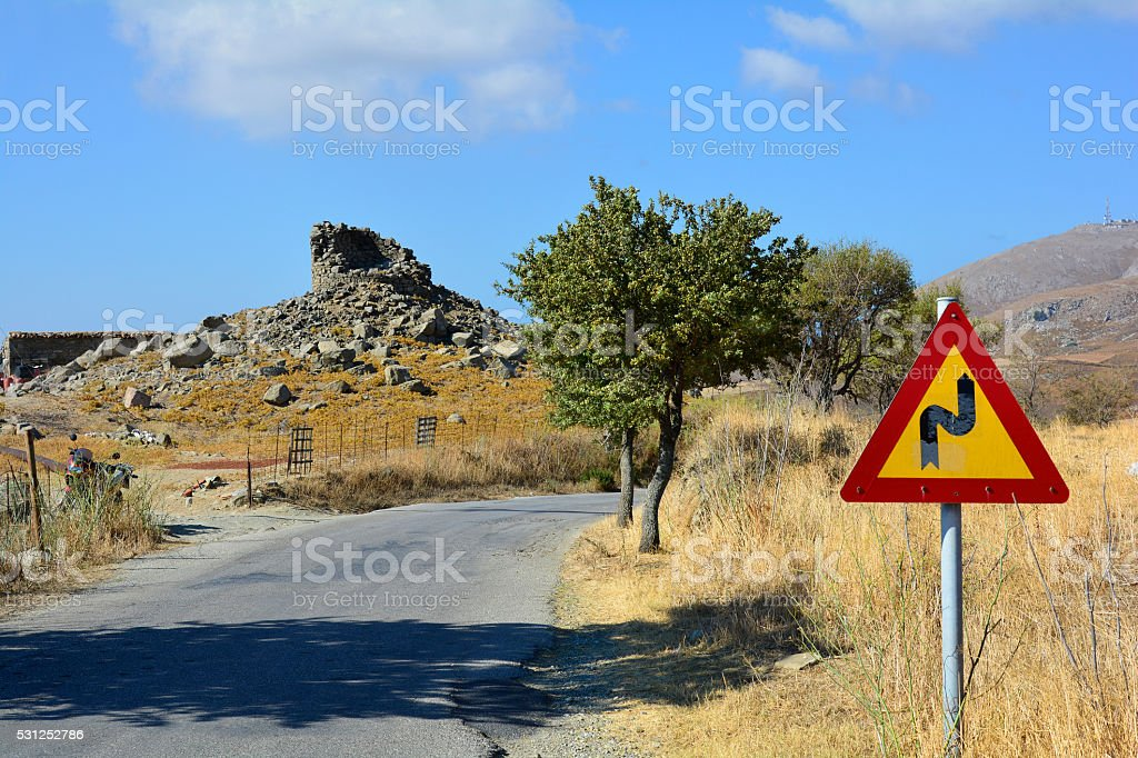 Greece_Lemnos Island stock photo
