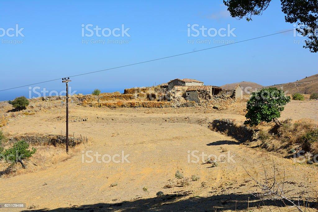 Greece_Lemnos Island stock photo