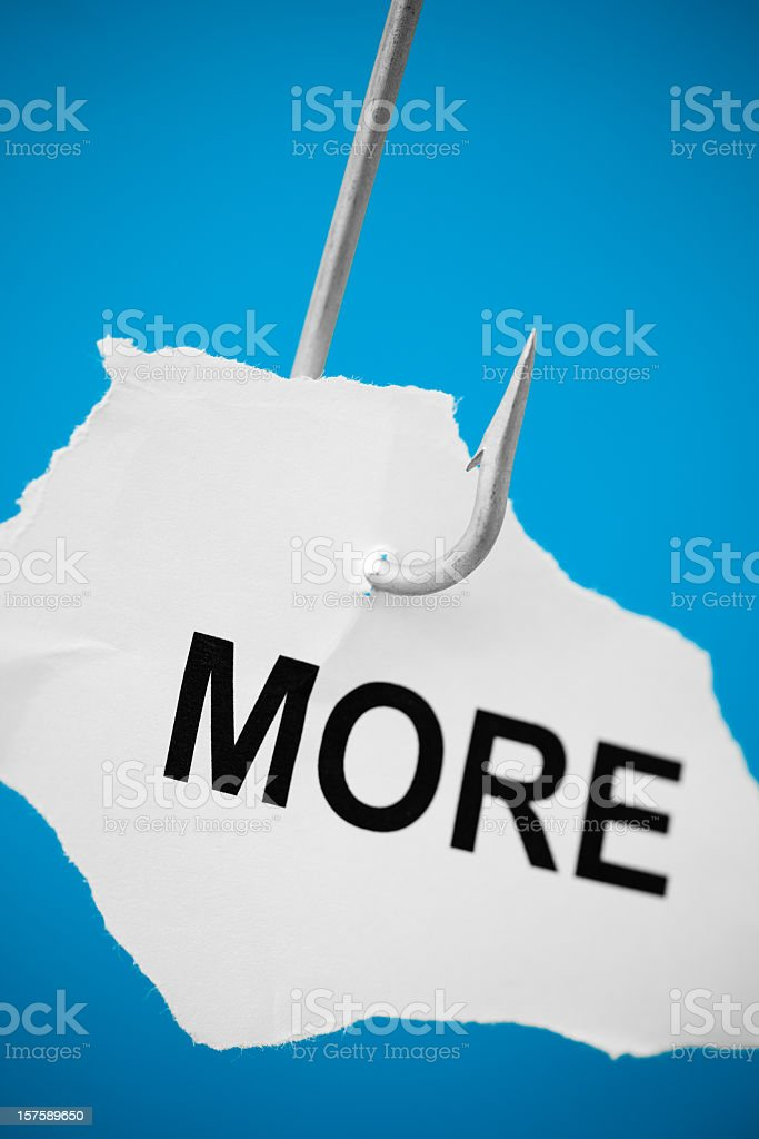 Greed stock photo
