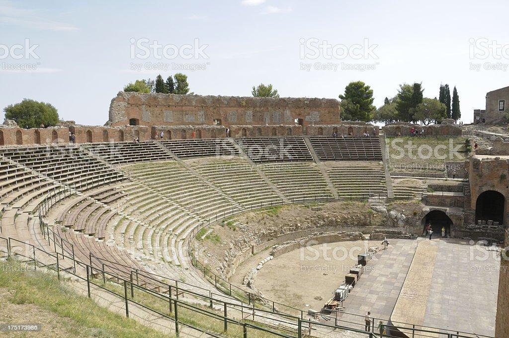 Greek Amphitheater royalty-free stock photo