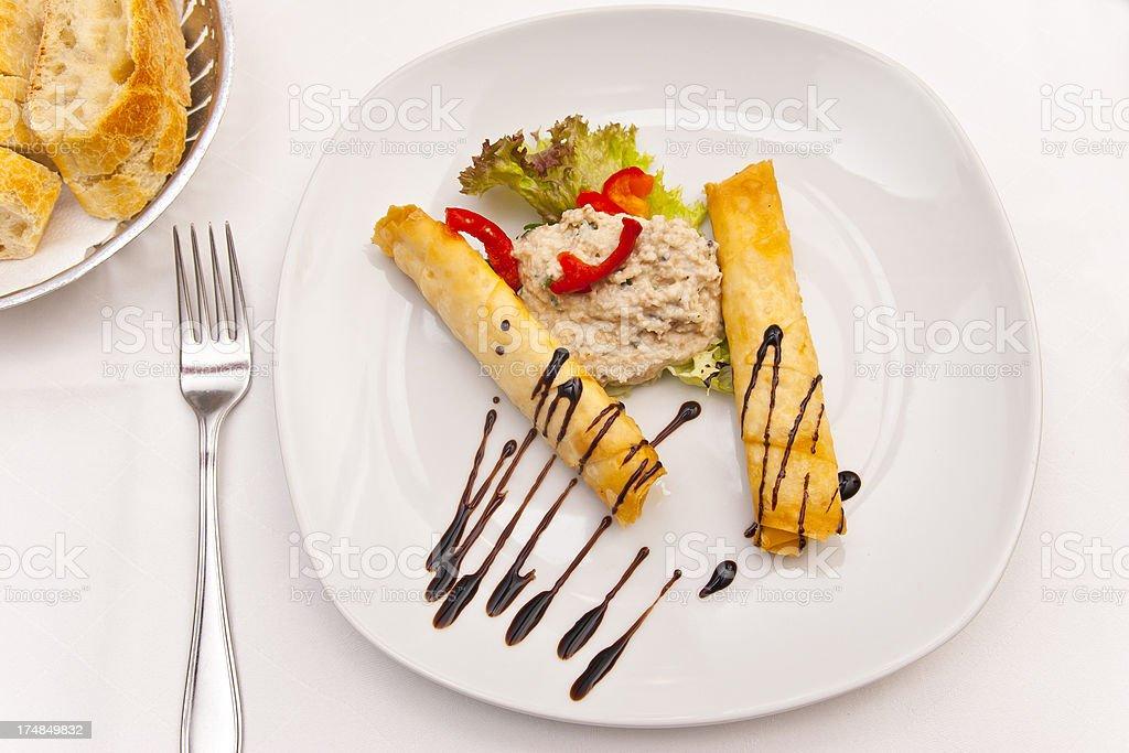 Greek Appetizer royalty-free stock photo