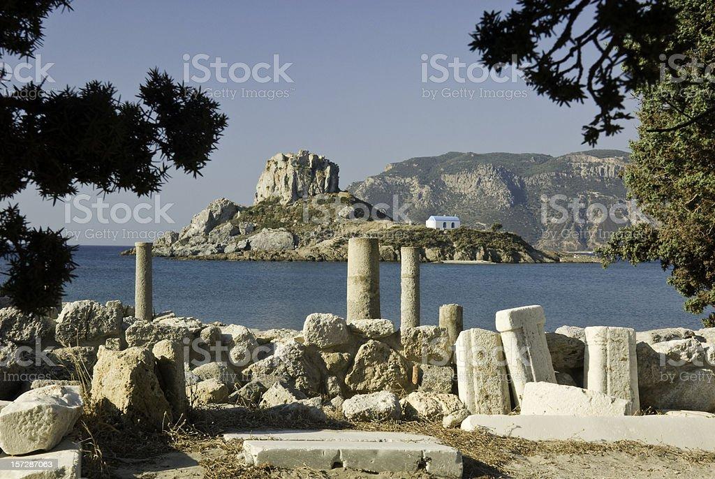 Greek Artefacts stock photo