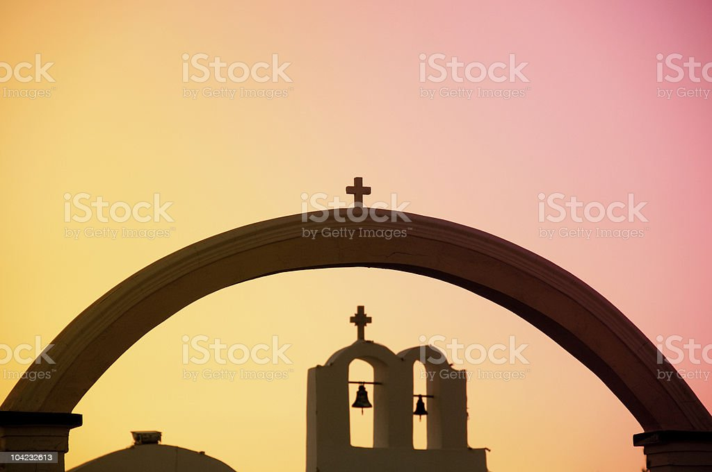 greek Church royalty-free stock photo