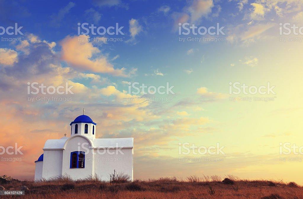 Greek Church royalty-free stock photo