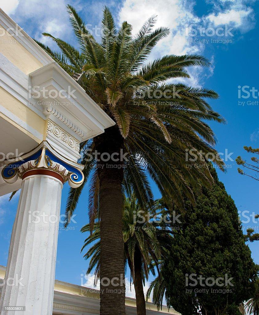 Greek Classical Achitecture stock photo