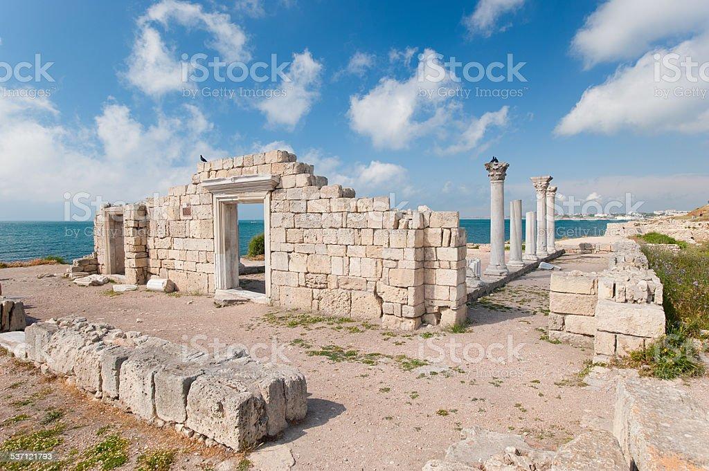 Griechische Kolonie Lizenzfreies stock-foto