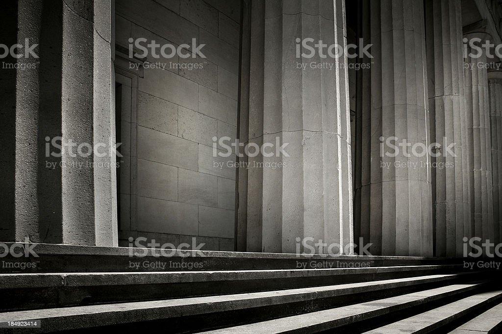 Greek Columns royalty-free stock photo