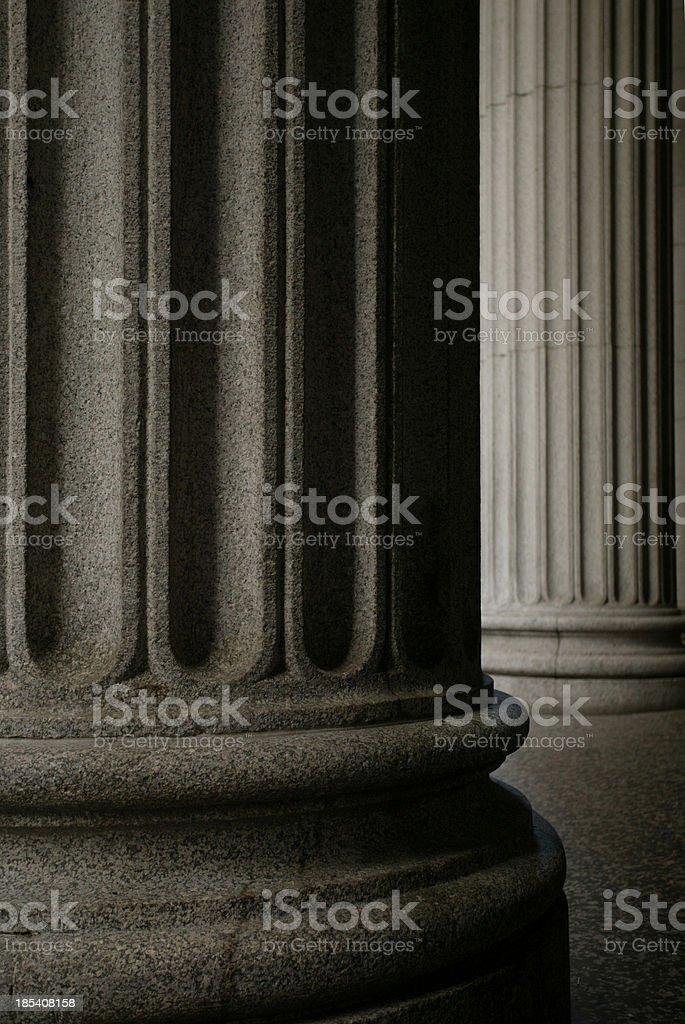 Greek Columns stock photo