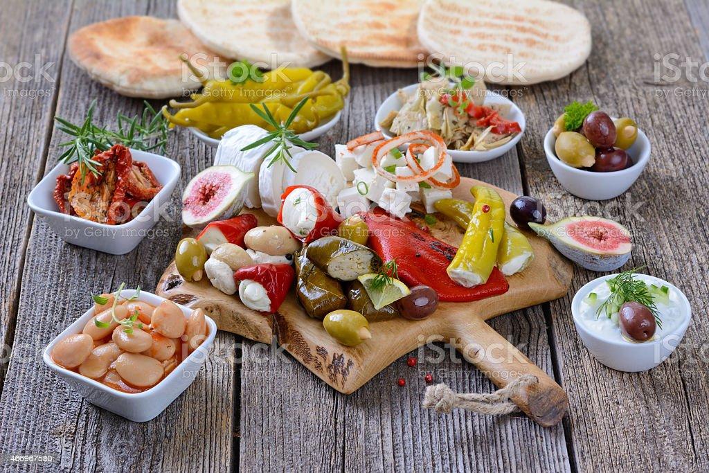 Greek food stock photo