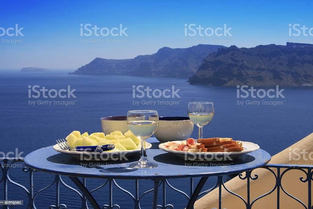 Greek Food royalty-free stock photo