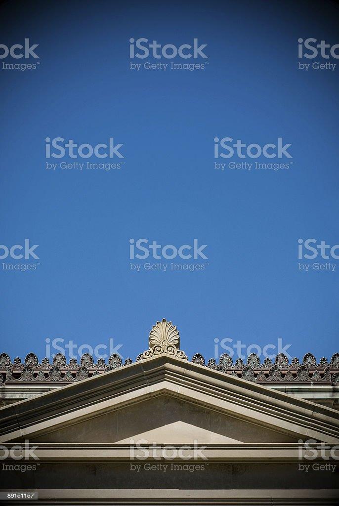 Greek Frieze royalty-free stock photo