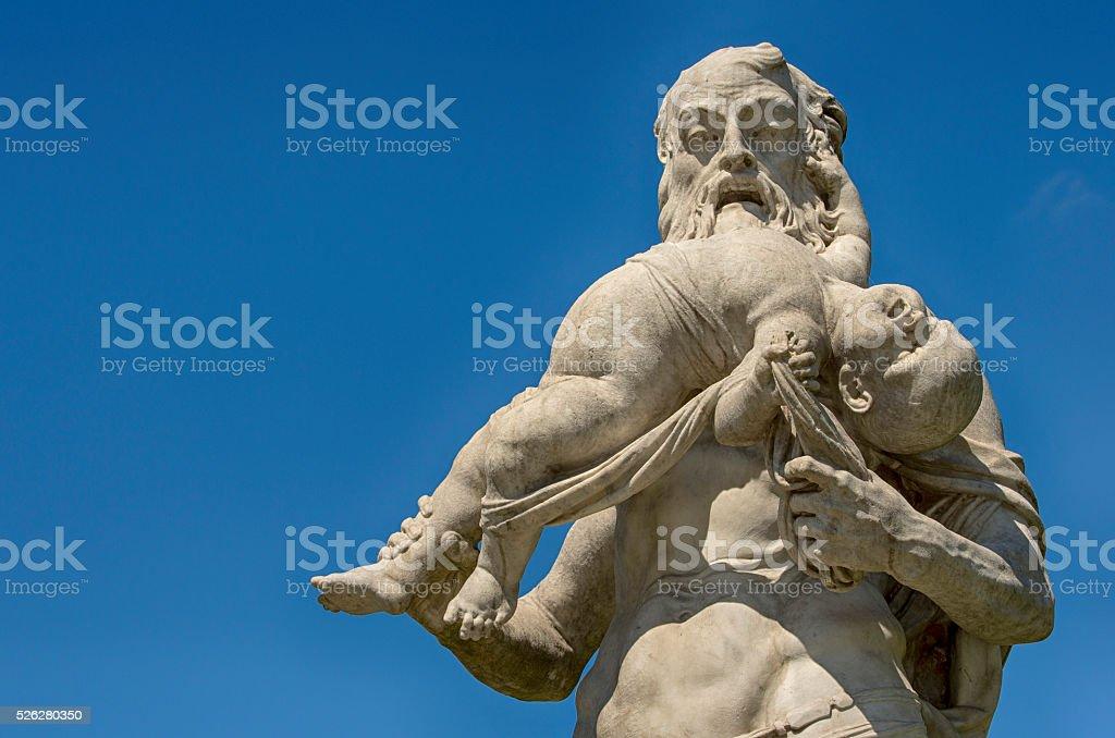 Greek God Kronos royalty-free stock photo