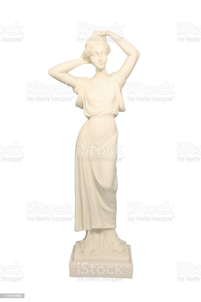 Greek goddess - Athena stock photo