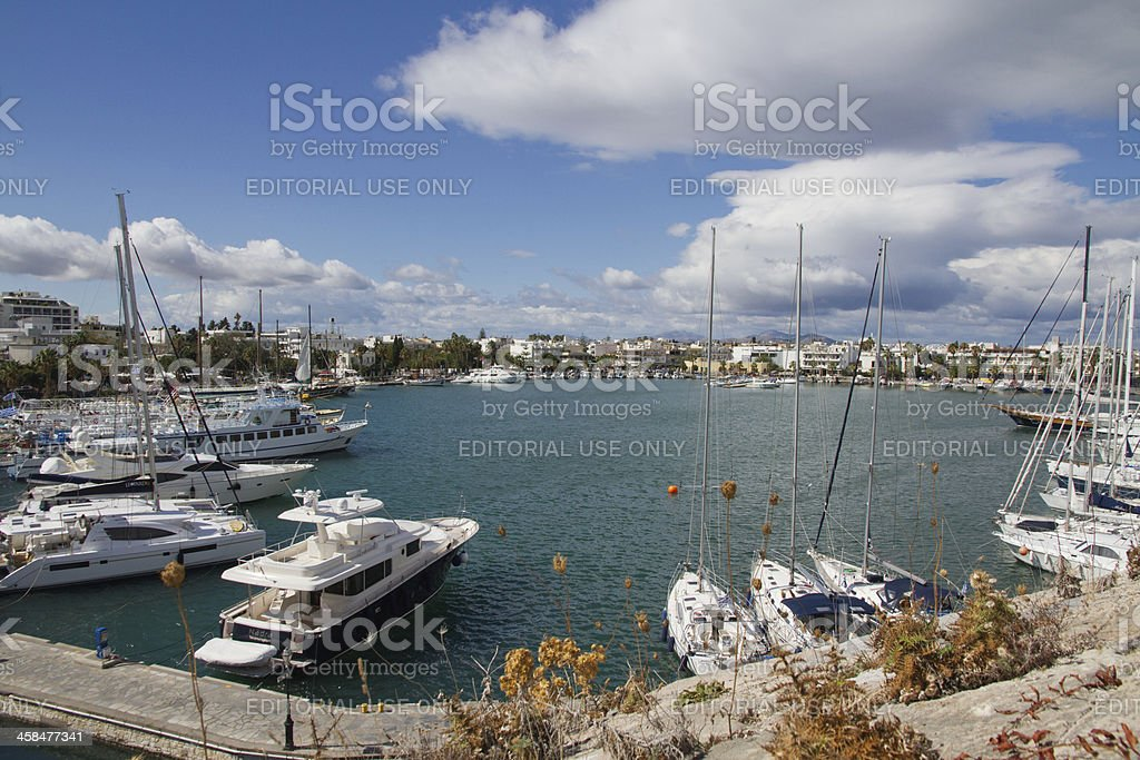 Greek Harbour royalty-free stock photo