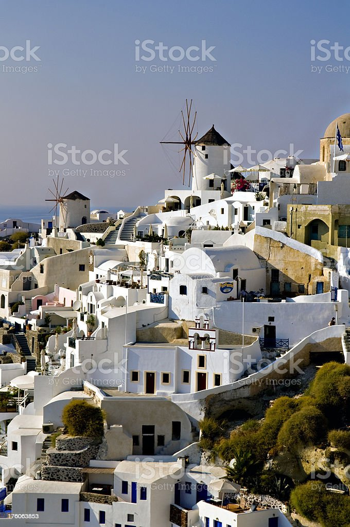 Greek Island Charm stock photo