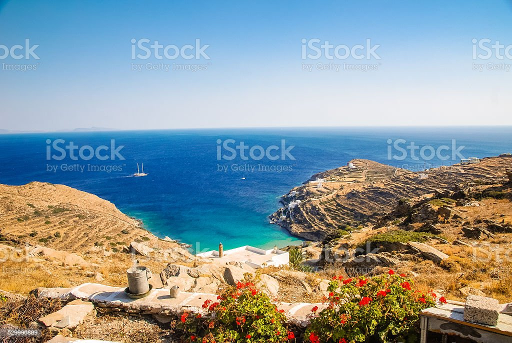 Greek Island Paradise stock photo