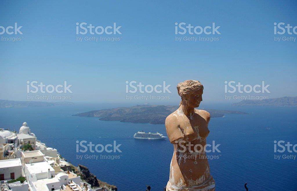 greek island royalty-free stock photo