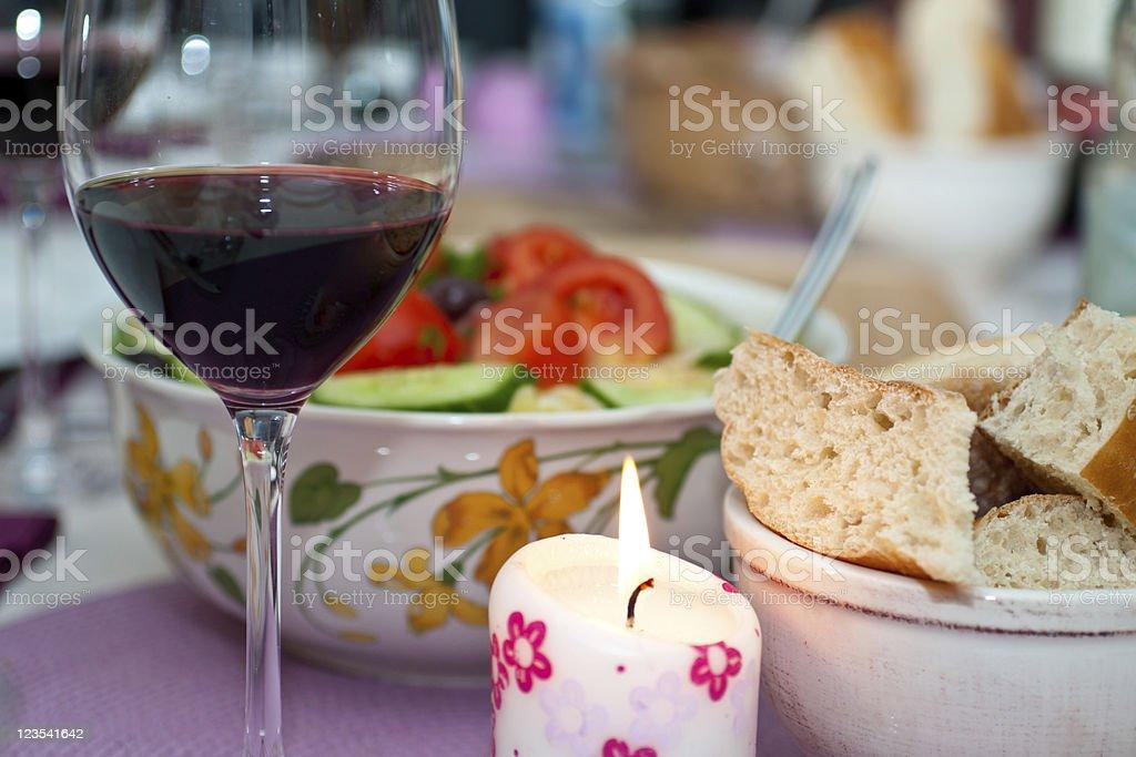 greek menu stock photo