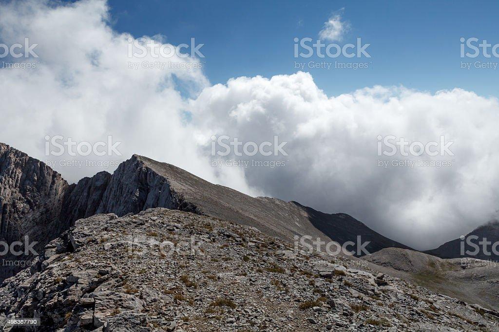 Greek Mt Olympus stock photo