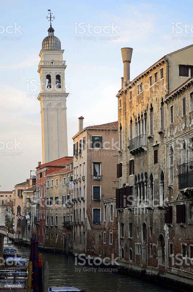 Greek Orthodox Cathedral in Venice royalty-free stock photo