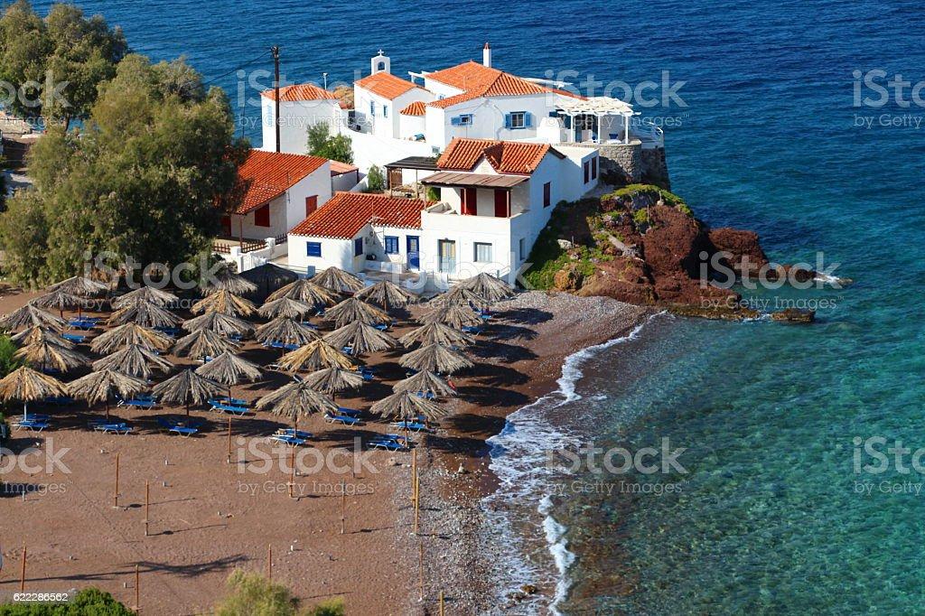 Greek Paradise stock photo