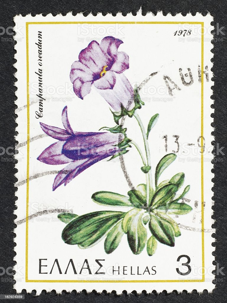 Greek postage stamp-1978 stock photo