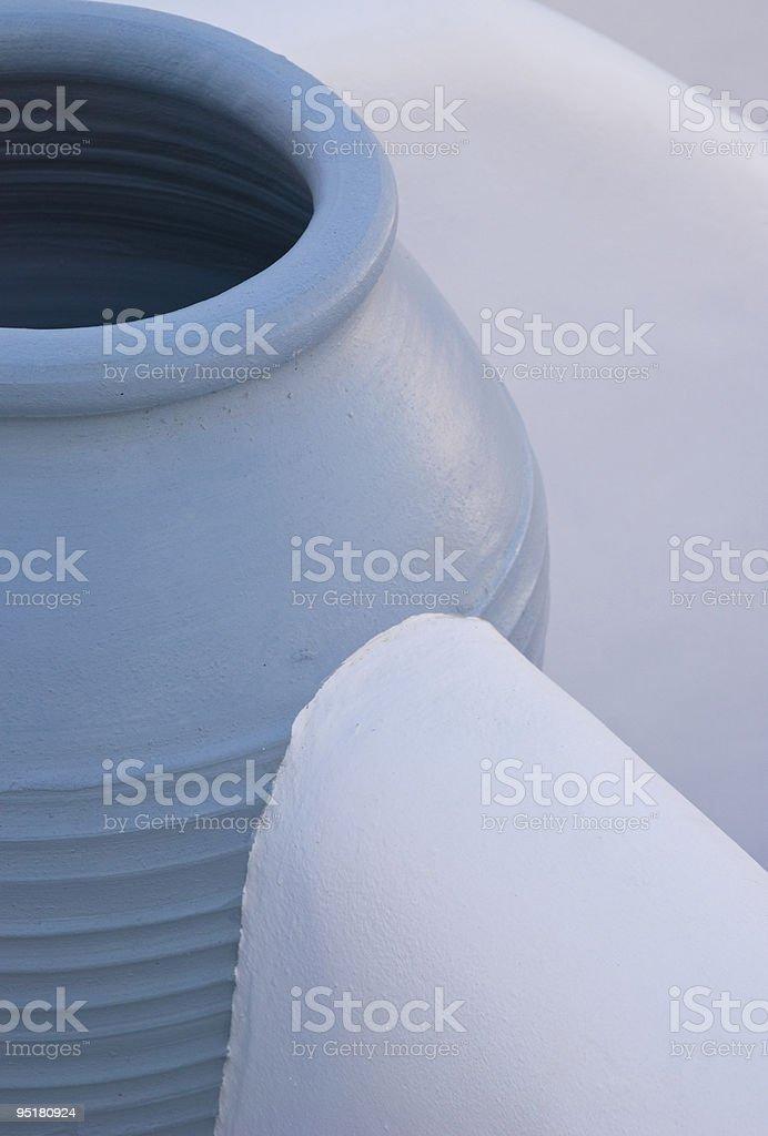 greek pot royalty-free stock photo