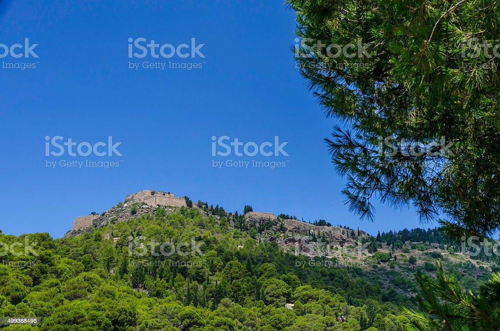 Greek Ruin stock photo