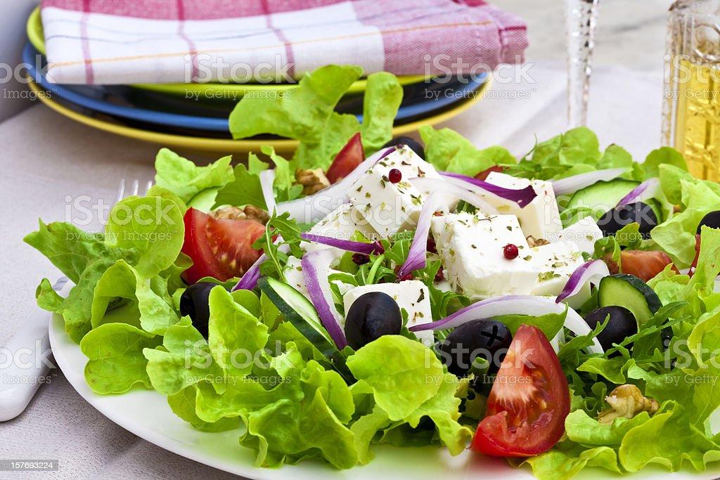 greek salad royalty-free stock photo