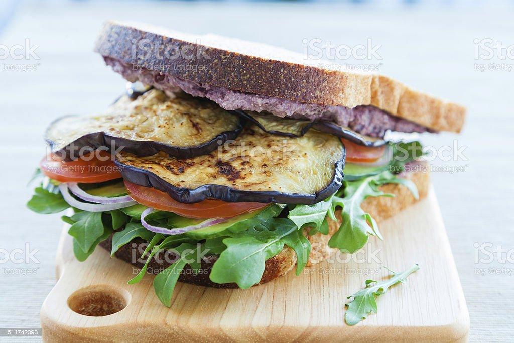 Greek sandwich stock photo