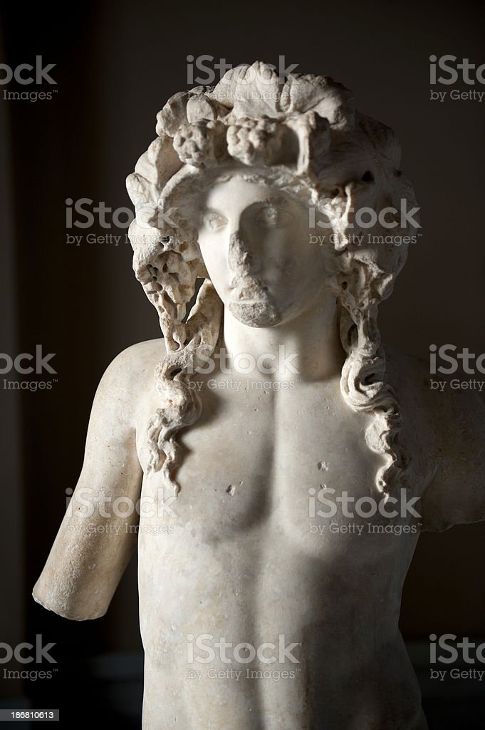 greek statue stock photo