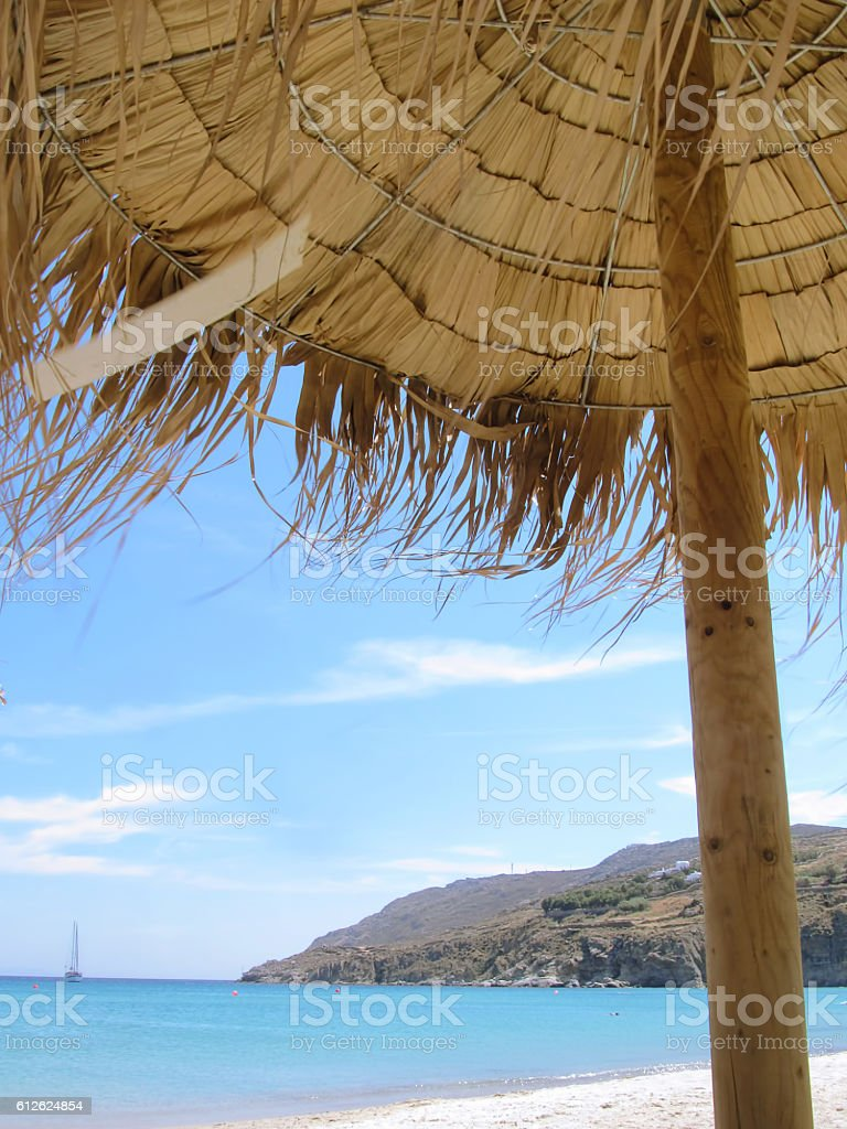 Greek summer stock photo