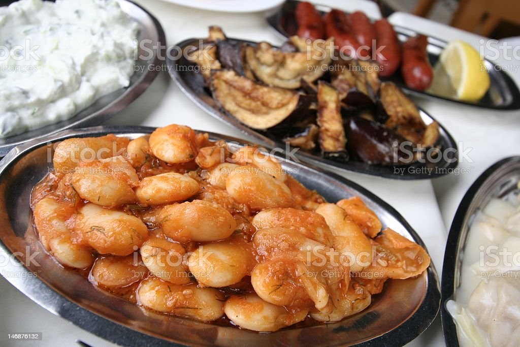 tabern cuisine grecque photo libre de droits