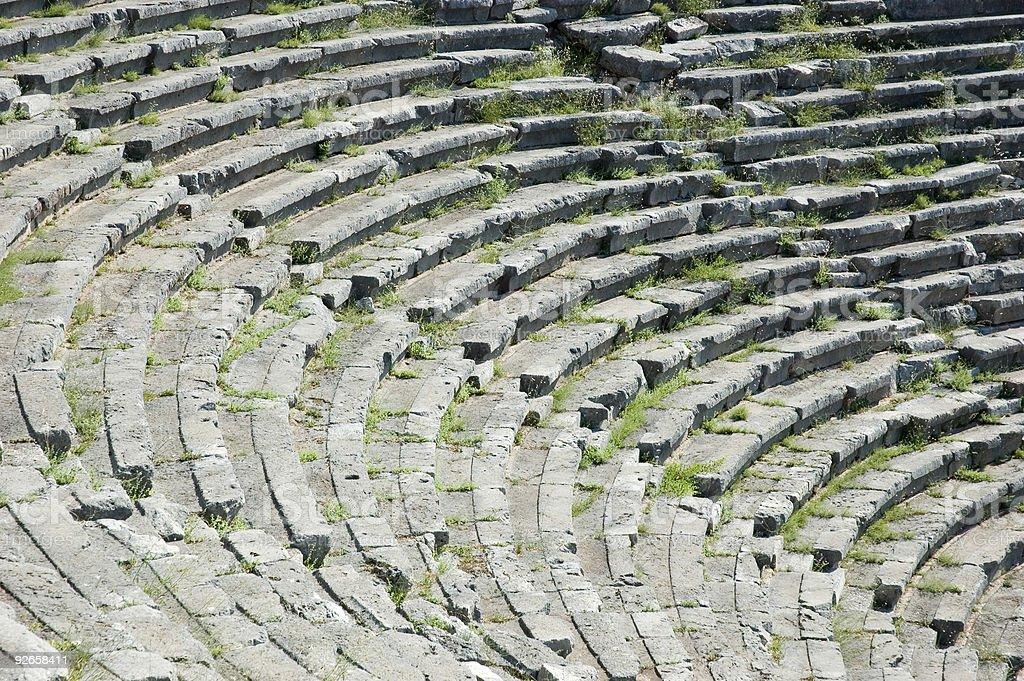 Greek Theatre royalty-free stock photo