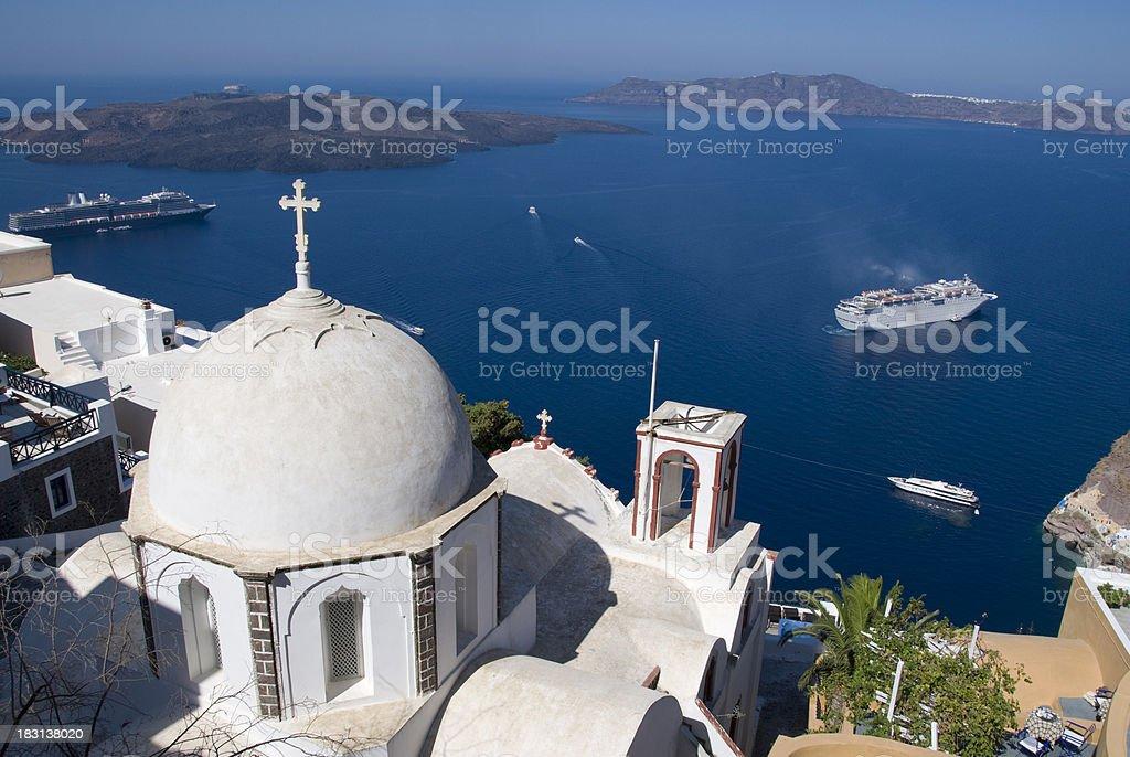 Greek Vacation royalty-free stock photo