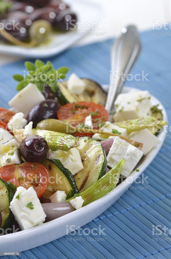 Greek vegetables royalty-free stock photo