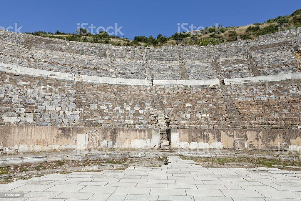 Greek-Roman amphitheater royalty-free stock photo