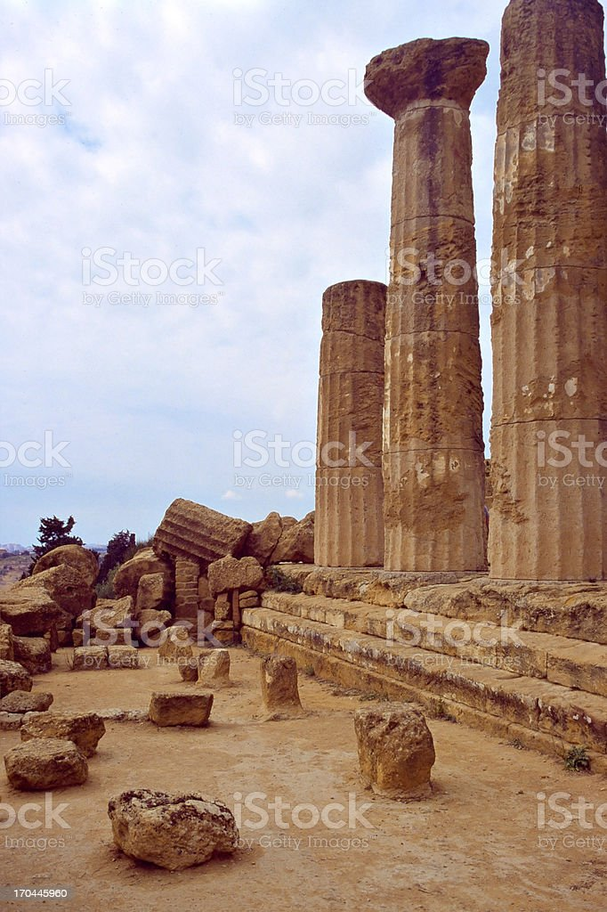 greek's ruin royalty-free stock photo