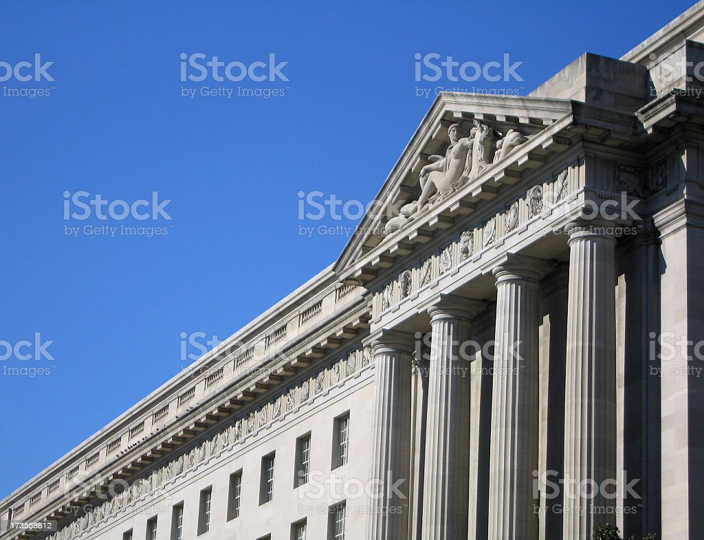 Greek-Style Architecture royalty-free stock photo