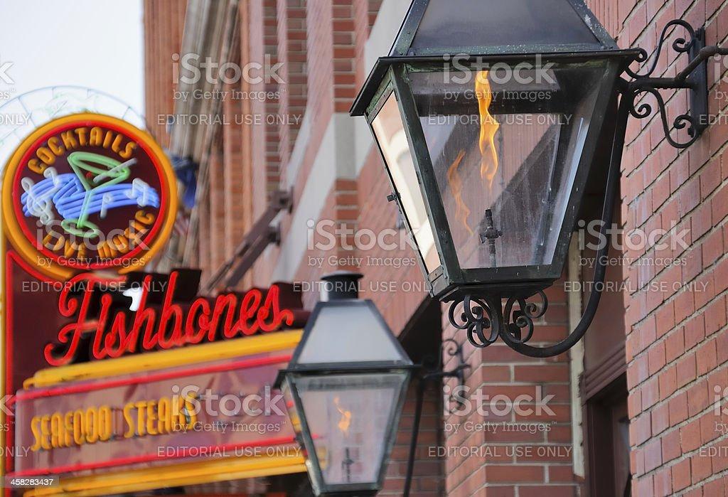Greektown, Detroit stock photo