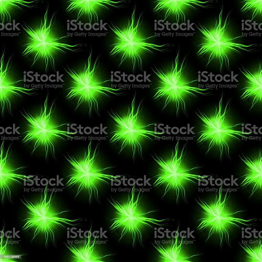 Green abstract seamless plasmatic pattern stock photo