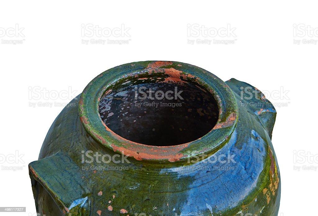 green amphora royalty-free stock photo