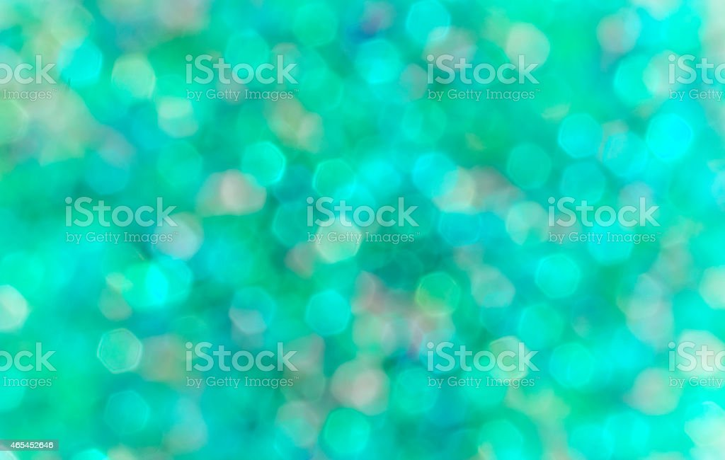 Green and blue blur bokeh royalty-free stock photo