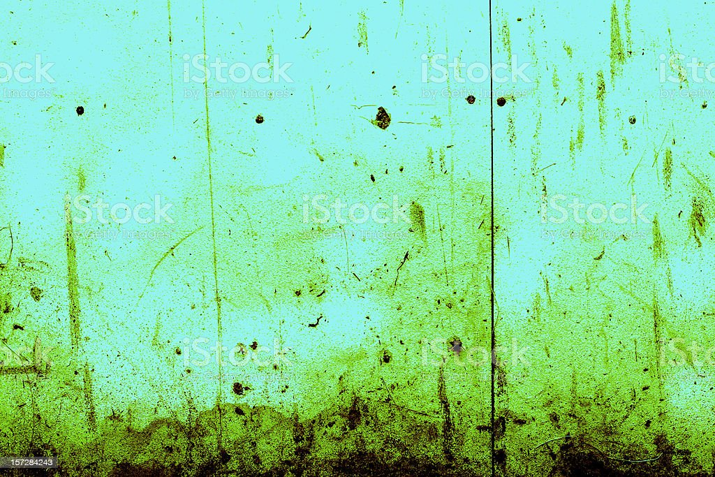 Green and Blue Grunge Background royalty-free stock photo