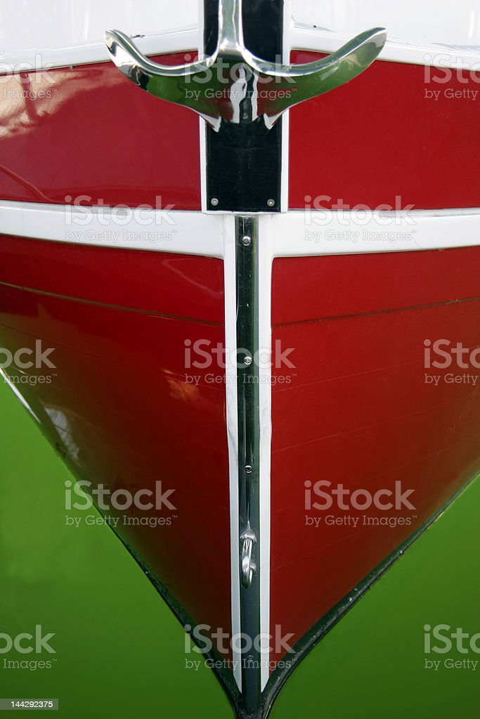 Green and red royalty-free stock photo